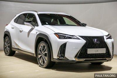 Lexus UX 2019 ra mắt chính thức khách hàng Indonesia 1