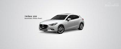 Màu sắc ngoại thất của Mazda 3.