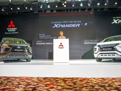 Mitsubishi Xpander 2018 được phân phối chính thức vào tháng 8 vừa qua a2