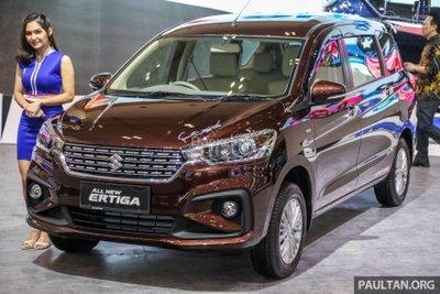 Suzuki Ertiga đời mới khoe dáng tại triển lãm GIIAS 2018 - 1