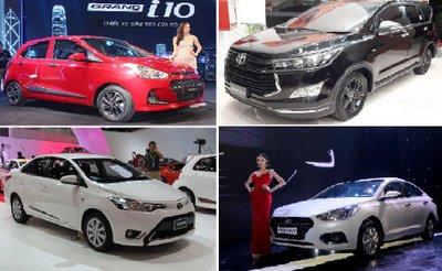 Top 10 xe ô tô ăn khách nhất Việt Nam tháng 7/2018: Hyundai Grand i10 thống trị.