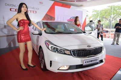 Kia Cerato bán được 1.113 xe trong tháng 7/2018.