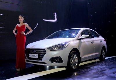 Hyundai Accent bán được 1.405 xe trong tháng 7/2018 .