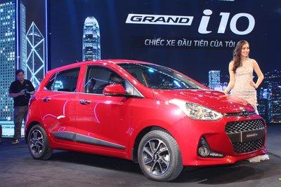 Hyundai Grand i10 bán được 1.820 xe trong tháng 7/2018.