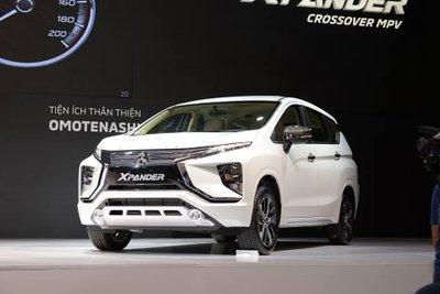 Mitsubishi Xpander 2018 tại buổi ra mắt thị trường Việt Nam ..