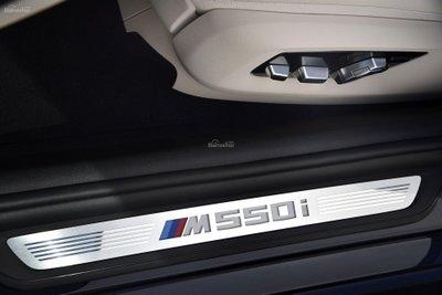 Logo xe BMW M550i 2018.