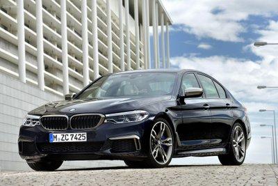 BMW M550i 2018.