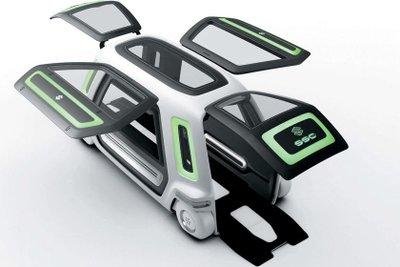10 mẫu xe concept cực kỳ độc đáo của người Nhật 3.