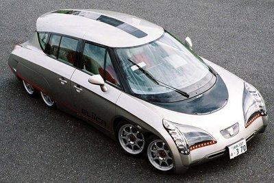 10 mẫu xe concept cực kỳ độc đáo của người Nhật 1.