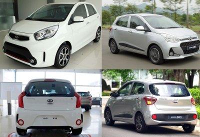 Hyundai Grand i10 và Kia Morning thống trị phân khúc xe hạng A tháng 7/2018.
