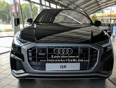 Audi Q8 2018 trình làng ở Ấn Độ, giá 2 tỷ đồng.