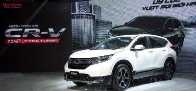 Doanh số Honda CR-V