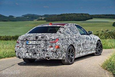 Đuôi xe BMW 3-Series thế hệ mới