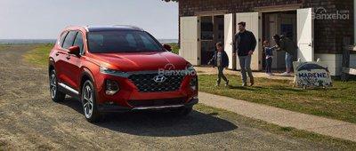 Hyundai Santa Fe 2019 sắp bán tại Việt Nam 1