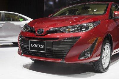 4 ô tô mới ra mắt Việt Nam đầu tháng 8: Toyota Vios 2018