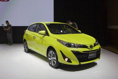 4 ô tô mới ra mắt Việt Nam đầu tháng 8: Toyota Yaris 2018