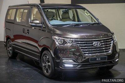 Hyundai Grand Starex giới thiệu bản nâng cấp có giá từ 784 triệu đồng với khách hàng Indonesia 1