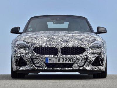 BMW Z4 thế hệ mới đã hiện nguyên hình qua loạt ảnh vừa công bố a12