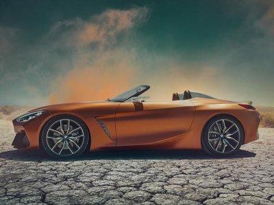 BMW Z4 thế hệ mới đã hiện nguyên hình qua loạt ảnh vừa công bố a10