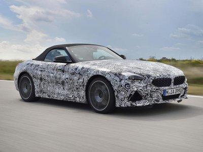 BMW Z4 thế hệ mới đã hiện nguyên hình qua loạt ảnh vừa công bố a13