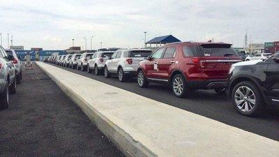 Lô Ford Explorer Limited 2018 nhập Mỹ đã hoàn tất thủ tục thông quan, sẵn sàng mở bán 1