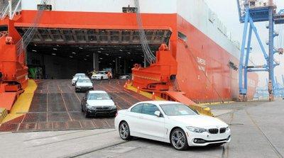 Lô xe BMW nhập khẩu