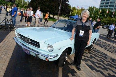 chiếc Ford Mustang đầu tiên