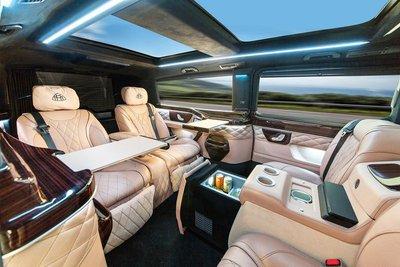Phong cách Maybach đẳng cấp hiện diện trên Mercedes-Benz V-Class
