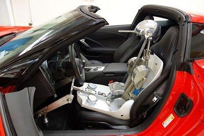 Robot Oscar thường được sử dụng khi thiết kế ghế ngồi