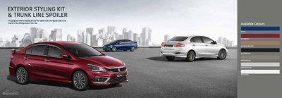 Suzuki Ciaz 2019 có 1 lựa chọn động cơ mới.