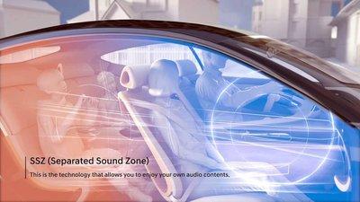 Hyundai-Kia giới thiệu công nghệ tách biệt âm thanh SSZ trên ô tô 1