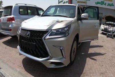 Cận cảnh chiếc Lexus LX570 bản độ 4 chỗ giá 11 tỷ đầu tiên tại Việt Nam a3