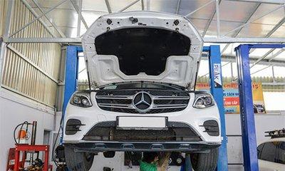 MBV phản hồi về việc nước vào vi sai cầu trước khi rửa xe Mercedes GLC