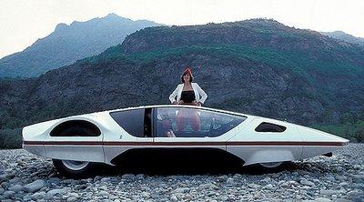 Người đẹp bên mẫu Ferrari 512S Modulo Concept phong cách phi thuyền - Ảnh 6.
