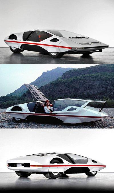 Người đẹp bên mẫu Ferrari 512S Modulo Concept phong cách phi thuyền - Ảnh 8.