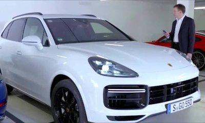 Porsche Cayenne lần đầu ứng dụng đỗ xe từ xa thông minh.