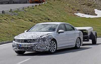 Volkswagen Passat 2019 chạy thử, cải tiến phần cứng rõ rệt 11