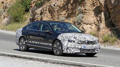 Volkswagen Passat 2019 chạy thử, cải tiến phần cứng rõ rệt.