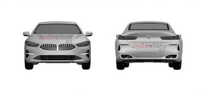 BMW 8-Series Convertible và Gran Coupe lộ diện thiết kế ngoại thất.