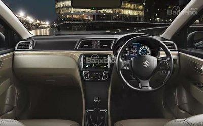 Nội thất Suzuki Ciaz 2019.