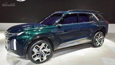Hyundai bí mật phát triển SUV đấu Toyota Land Cruiser - 1