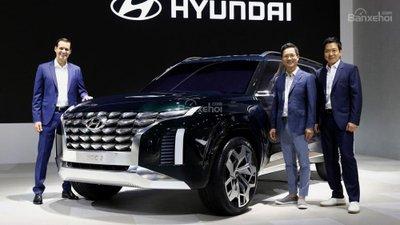 Hyundai bí mật phát triển SUV đấu Toyota Land Cruiser - 3