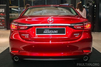 Cận cảnh Mazda 6 2018 facelift tại lễ ra mắt khách hàng Malaysia a2