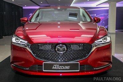 Cận cảnh Mazda 6 2018 facelift tại lễ ra mắt khách hàng Malaysia a1