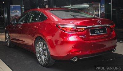 Cận cảnh Mazda 6 2018 facelift tại lễ ra mắt khách hàng Malaysia a3