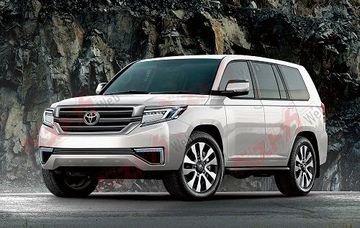 Toyota Land Cruiser mới sẽ loại bỏ động cơ V8.