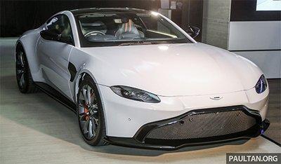 Aston Martin V8 Vantage 2018 trình làng tại Malaysia, giá hơn 8 tỷ.