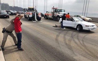 Drift xe, gây tắc nghẽn giao thông