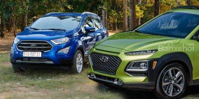Hyundai Kona và Ford EcoSport