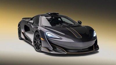 McLaren 600LT có thêm bản chỉnh sửa MSO siêu sang trọng.